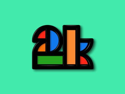 Mondrian style monogram mondrian rectangle logo monogram 2 k