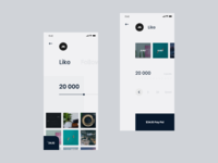 App design ui ux   Instagram   Buy in app   Service