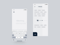 Design app ux / ui   Hashtags   Instagram   App animation