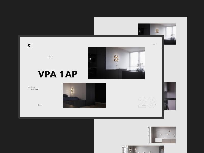 Architect Portfolio Website portfolio site website webdesign future design corporate brand web animation clean ux ui minimal
