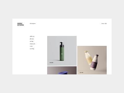 Architectural Website design | Full case on Behance branding mobile animation website web design ux ui minimal clean