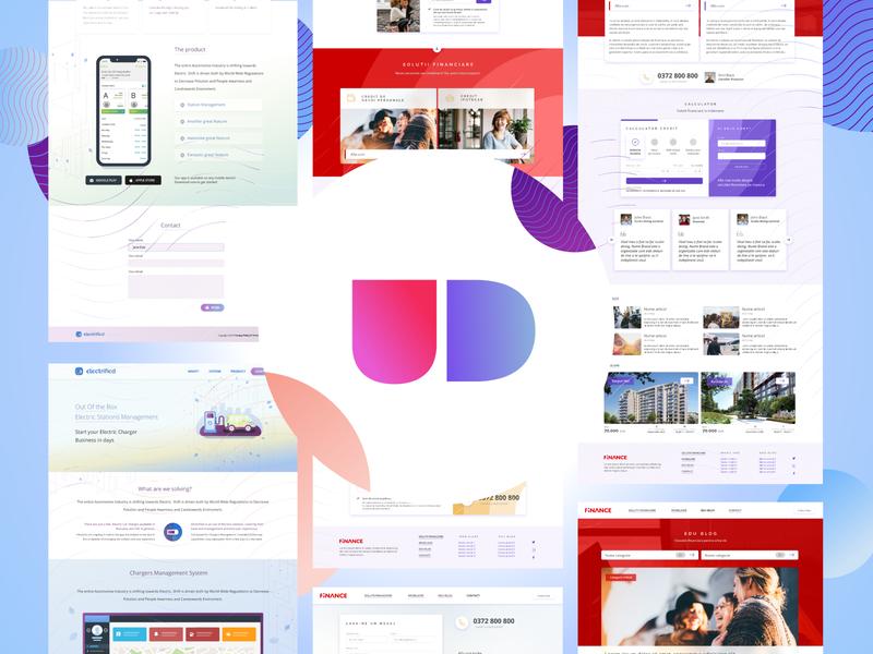 UD [WIP] WP Design Sets for Oxygen ui digital wordpress design wordpress layout sets design