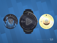 Smartwatch Illustration + some faces