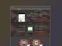 Etimat Website  - main view