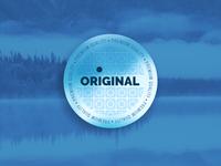 Premium Quality Badge Dark Cold Style