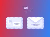 Envelope - digital illustration