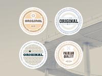 Modern Creative Badges
