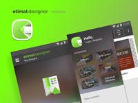 Etimat Designer (redesign)