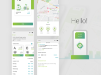 Mobile app - EV - Charging stations
