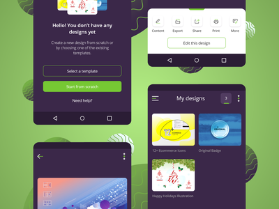 Etimat.App Redesign design creative ux mobile app design layout android ios application app ui concept app design