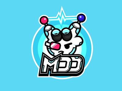 Mdd机械手陈滑翔 illustration logo ui