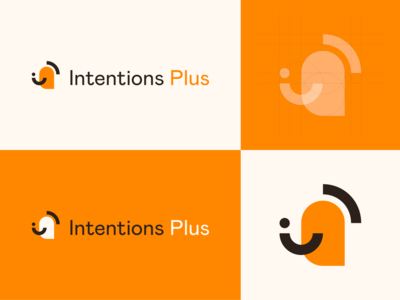 Logo Concept - Intentions Plus development personal identity design branding logo