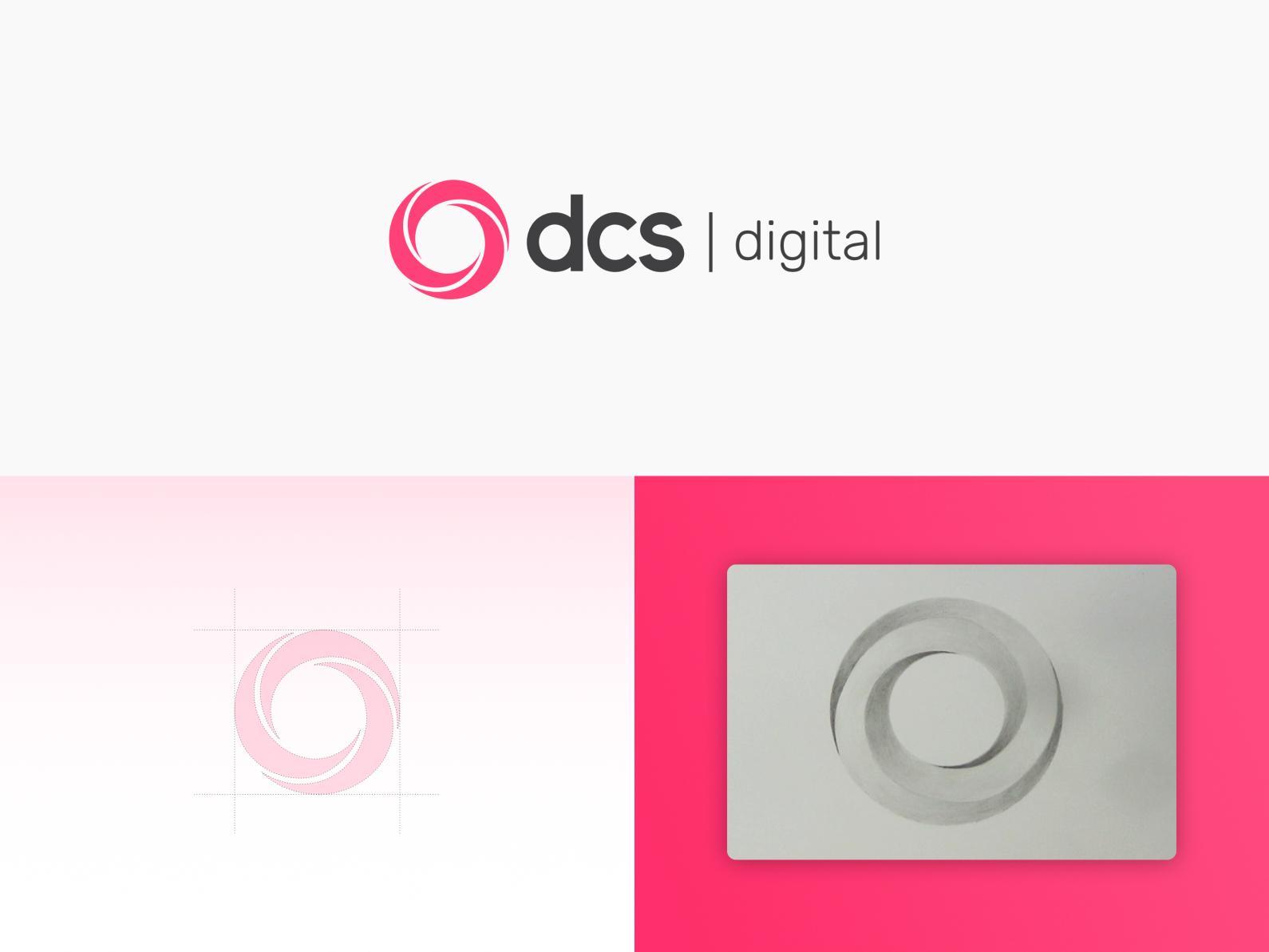 Dcs digital logo design