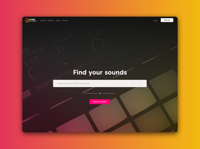 Audio Sample Web App