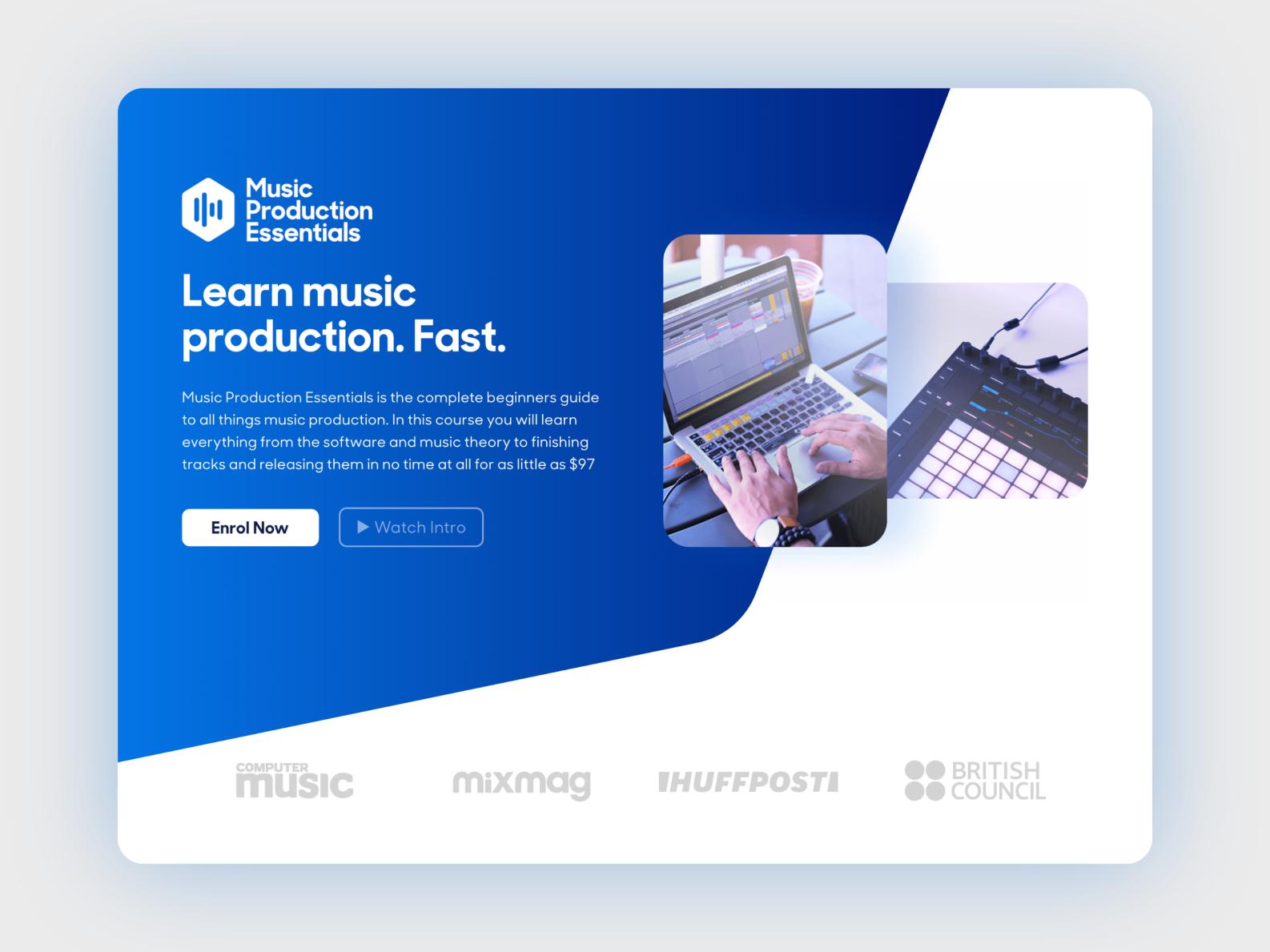 Hyper production web design