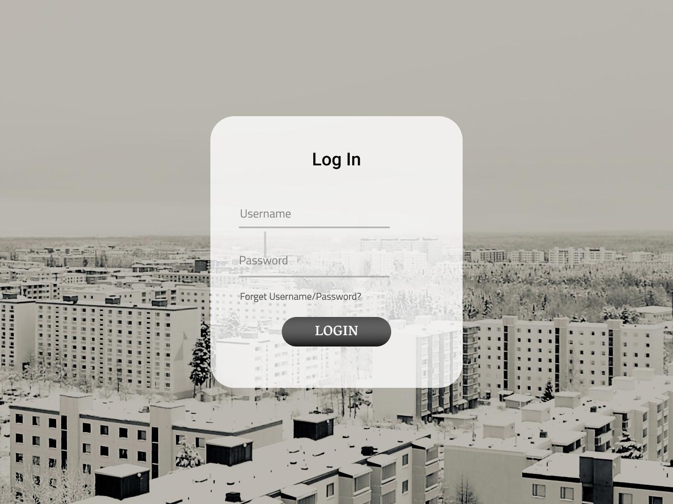 A Simple Login page log in sign in ui login login form login design login page uidesign webdesign