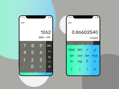 Calculator - Daily UI 004