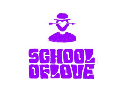 School of Love orange clockwork love school