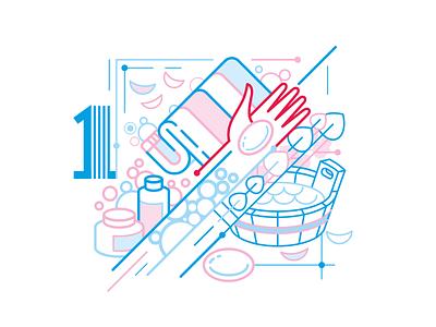 Infograph 0 design vector icons illustration