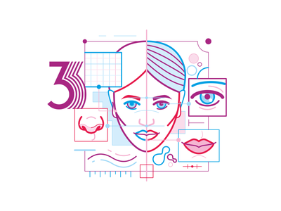 Infograph 3 vector icons illustration