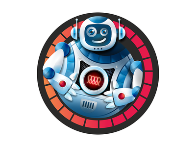 robot design vector illustration robot