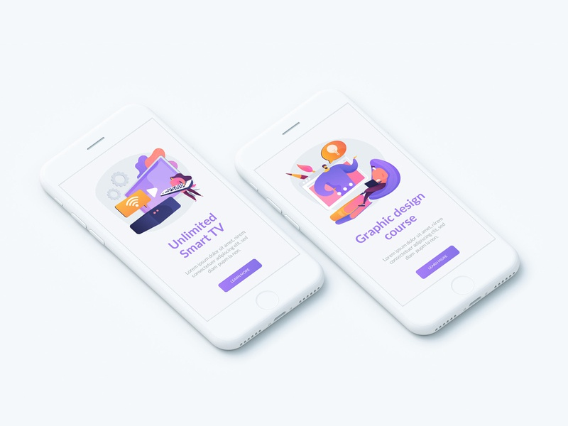 Remotely. Illustration pack. onboarding ui concept concept illustration ui elements uiux work education distant stayhome remote vector illustration
