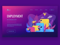 Employment Hierarchy landing page