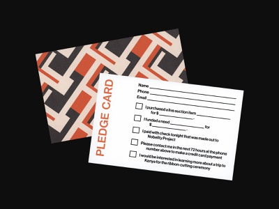 Harambee Postcard harambee events brand identity post card scan postcard print design graphic