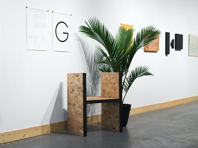 Types—2016 typography futura fine art art industrial chair design graphic