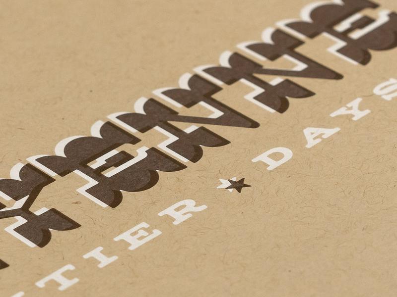 Cheyenne Frontier Days Pitch Deck 1.1 cheyenne fair kraft printed print deck booklet book design graphic