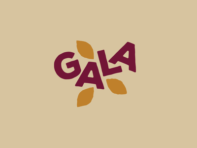 PLCBC Gala 2019 gala fall colors fall leaves autumn badge icon mark logo identity brand design graphic