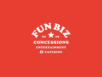 Fun Biz 1.1 badge food cooper cooper black concessions fair mark logo identity brand design graphic design graphic