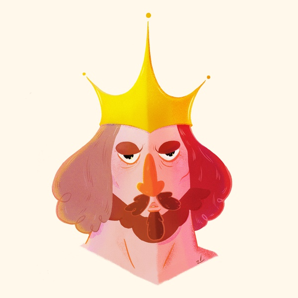 He-Man Project : King Randor character design character cartoon he-man heman minimal website web animation icon branding design illustration