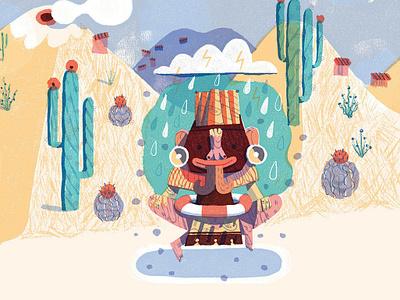 Tule, published by Ate con queso. tule ateconqueso children books children book illustration illustration oaxaca tehuana biznaga