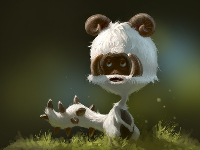 Li'l Creature illustration character design monster