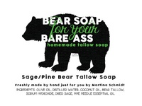 Bear Soap for your Bare Ass