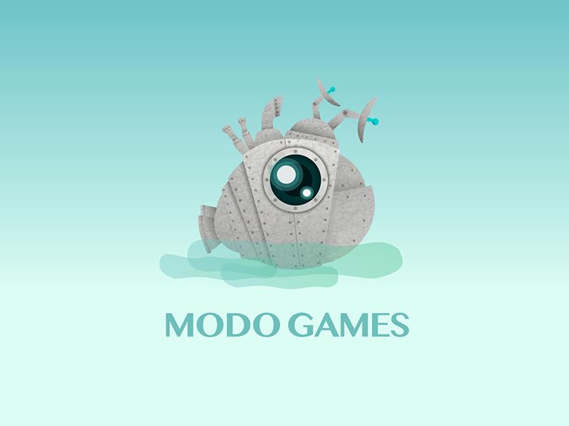 Modo Games Logo logo games modo