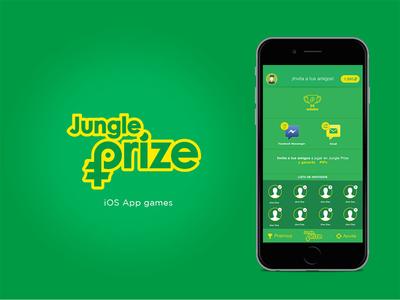 Jungle Prize prizes facebook users invite user game app