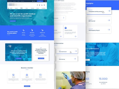 UI design for scientific web web designer ui web scientific user interface ui design graphic web design ui