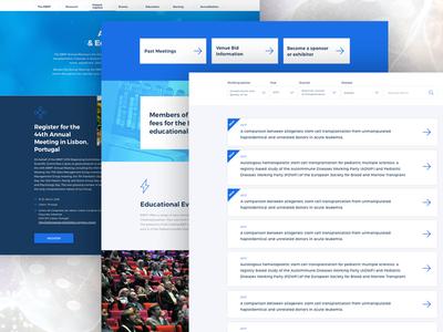 UI design for scientific web II web designer ui web scientific user interface ui design graphic web design ui
