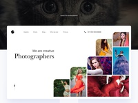 Free Photographer Portfolio