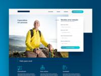 health insurance - Landing page
