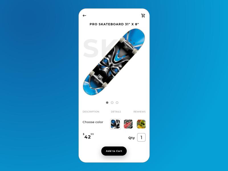 Daily UI #033 adobe xd ui product page mobile app 033 daily ui dailyui