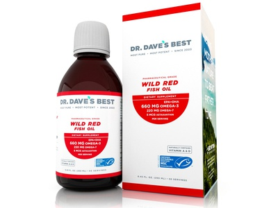 Wild Red Fish Oil