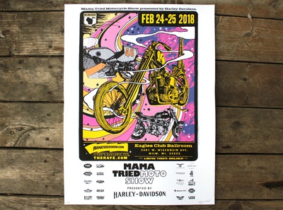 Mama Tried Poster