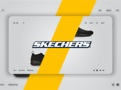 Landing Page for Skechers