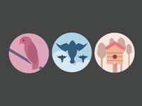 Flock icons