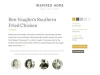 Style Tile / Inspired Home (IHA)