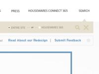 Search pattern / International Housewares Association