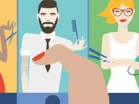 illustration - choose your stylist